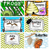 Animals and Insects Bundle -  Life Cycles, Habitats, Adaptations