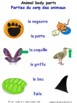 Animals and Nature in French Matching Activities