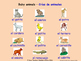 Animals and Nature in Spanish Posters / Slides