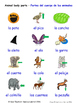 Animals and Nature in Spanish Word searches / Wordsearches