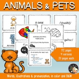Animals and Pets Flashcards