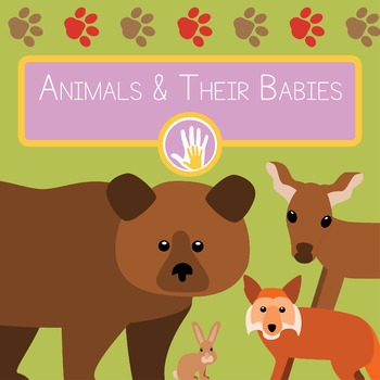 Animals and Their Babies Flashcards and Worksheets