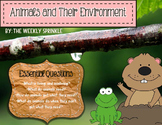 Animals and Their Environment