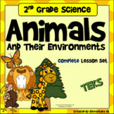 Animals and Their Environments: 2nd Grade Complete Lesson Set