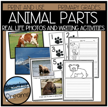 Animals and Their Parts: A Cross Curricular Resource for Primary