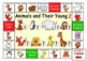 Animals and Their Young Game board