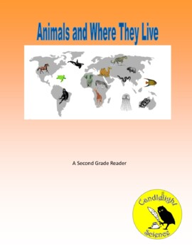 Animals and Where They Live (360L, 480L, 550L)- Science Info Leveled Text Set