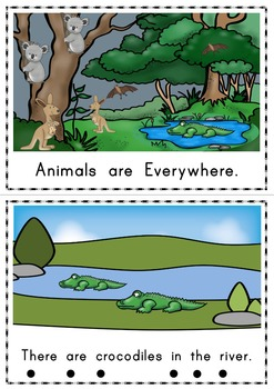Animals are Everywhere Easy Reader - Guided Reading Kit