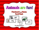 Animals are Fun! Flashcard and Game Card Pack