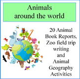 Animals around the world reports and activities