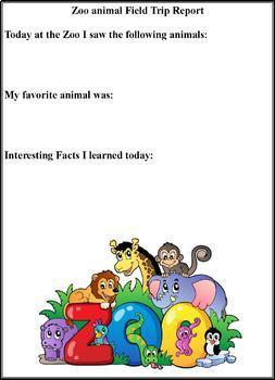 Animals around the world reports and activities