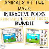 Animals at the Park Interactive Books BUNDLE (Printable an