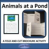 Animals at a Pond Brochure Activity