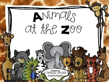 Life Science - Animals at the Zoo