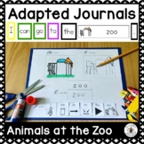 Animals at the Zoo Adapted Journal with Visual Supports
