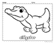 Animals at the Zoo Coloring Pages
