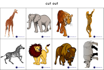 Animals by Habitat - sorting and classifying