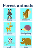 Animals (collection of fun activities ) PART1
