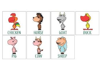 Animals: flashcards 2