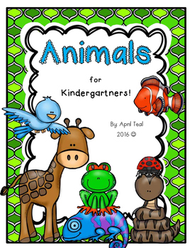 Animals for Kindergartners