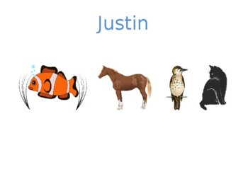 Animals in English Detectives Speaking activity