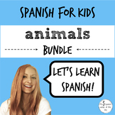Animals in Spanish BUNDLE | Spanish Vocabulary