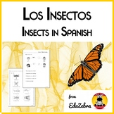 Animals in Spanish: Insects - Los Insectos - Activity Pack