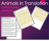 Animals in Translation by Temple Grandin - Text Excerpt wi