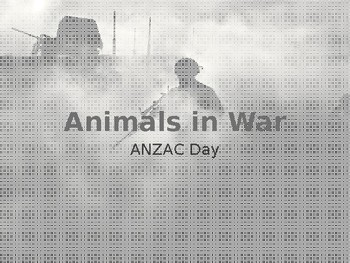 Animals in War