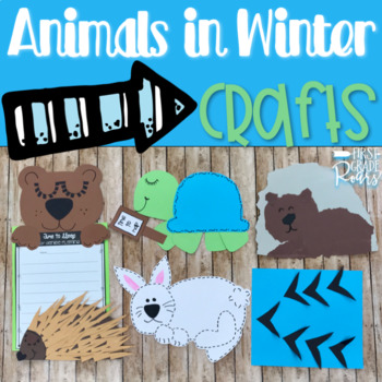 Animals in Winter CRAFTS