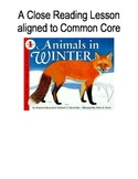 Animals in Winter {Close Reading Lesson Aligned to Common Core}