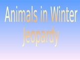 Animals in Winter Jeopardy
