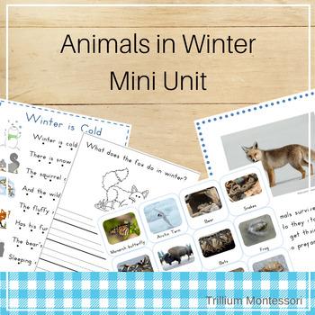 Mini Unit: Animals in Winter