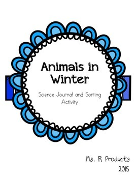 Animals in Winter Mini-book and Picture Sort