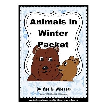 Animals in Winter Packet: Featuring a Lift-the-Flap Book f