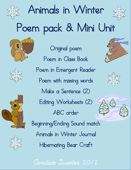how to write a ballad poems about animals