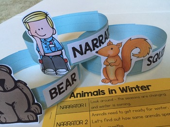 Animals in Winter Readers Theater