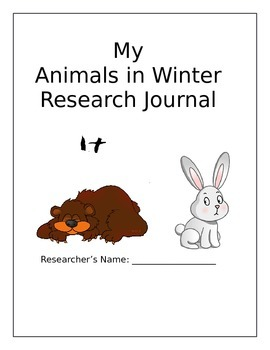 Animals in Winter Research Journal