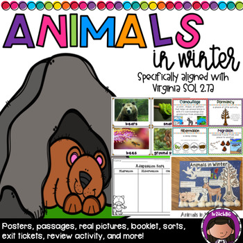 Animals in Winter SOL 2.7a