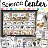 Animals in Winter Science Center | Word Wall Cards | Preschool | Kindergarten