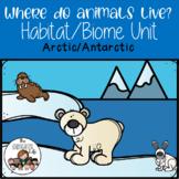 Animals in the Arctic & Antarctic habitat unit