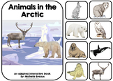 Animals in the Arctic Winter Adapted Book January-Autism, Special Ed, Speech