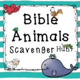 Animals in the Bible Scavenger Hunt