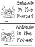 Animals in the Forest- Nonfiction Leveled Reader- Level B Kindergarten Science