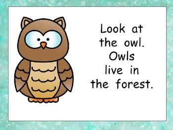 Animals in the Forest- Nonfiction Shared Reading- Level B Kindergarten Science