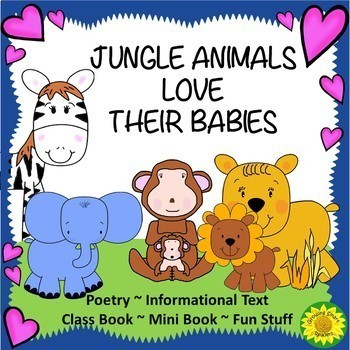 Animals in the Jungle Bundle (3 Resources in One!)