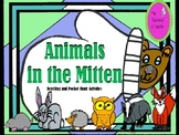 Animals in the Mitten Retelling and Pocket Chart Activities