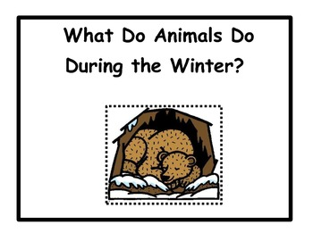 Animals in the Winter: Migration, Adaptation,Hibernation BLACK AND WHITE COPY