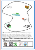 Animals in the park-Measurement and Location worksheet
