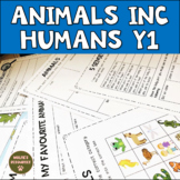 Animals including Humans Year 1 complete Unit UK